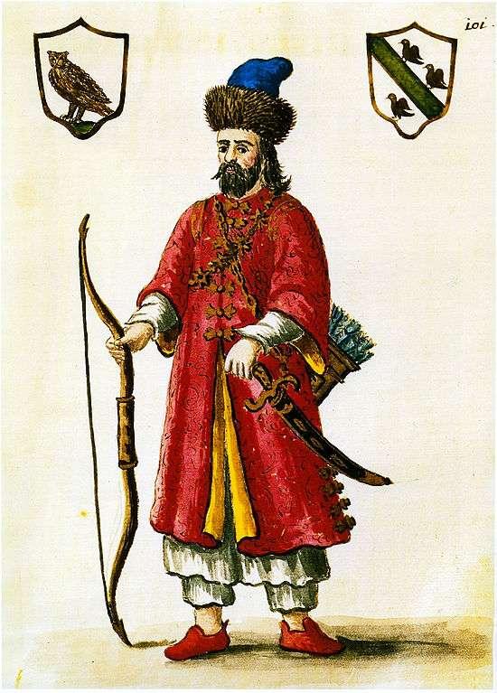 Marco Polo a fait découvrir la Chine aux Européens. Le voici en costume tartare. © Grevembrock, Wikimedia Commons, DP