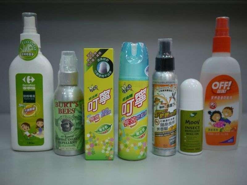 On trouve des pyréthrinoïdes dans des insecticides, mais aussi dans des répulsifs antimoustiques. © KaurJmeb, Wikipédia, cc by sa 2.5