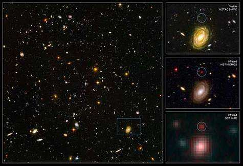 Le Hubble Ultra Deep Field