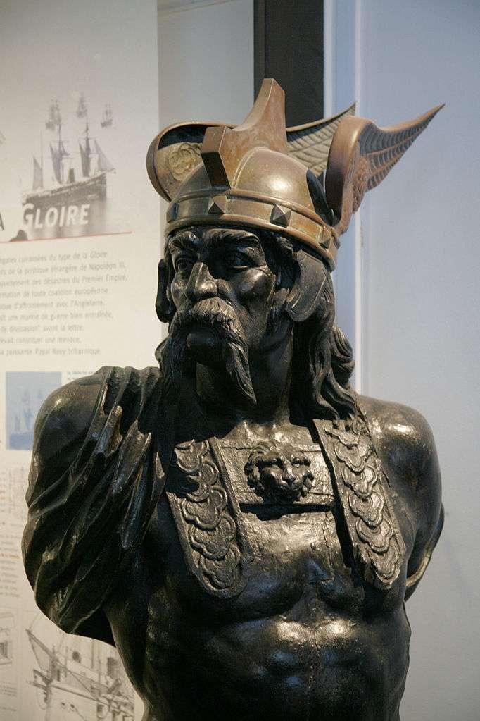 Buste de Brennus, chef gaulois de la tribu des Sénons. La Gaule comportait une myriade de peuples avant sa conquête par César. © Med, Wikimedia Commons, cc by sa 3.0