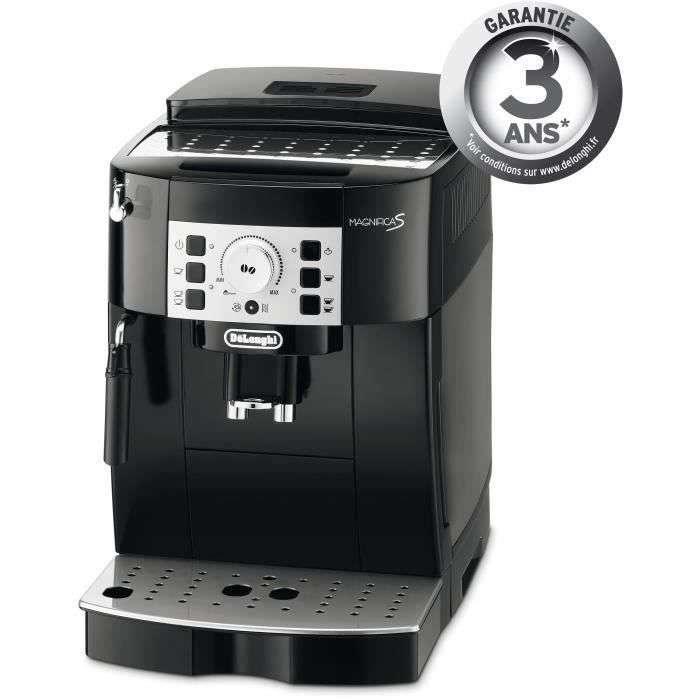 Soldes d'été : la machine à café à grain Delonghi ECAM22.140.B Magnifica S © Cdiscount