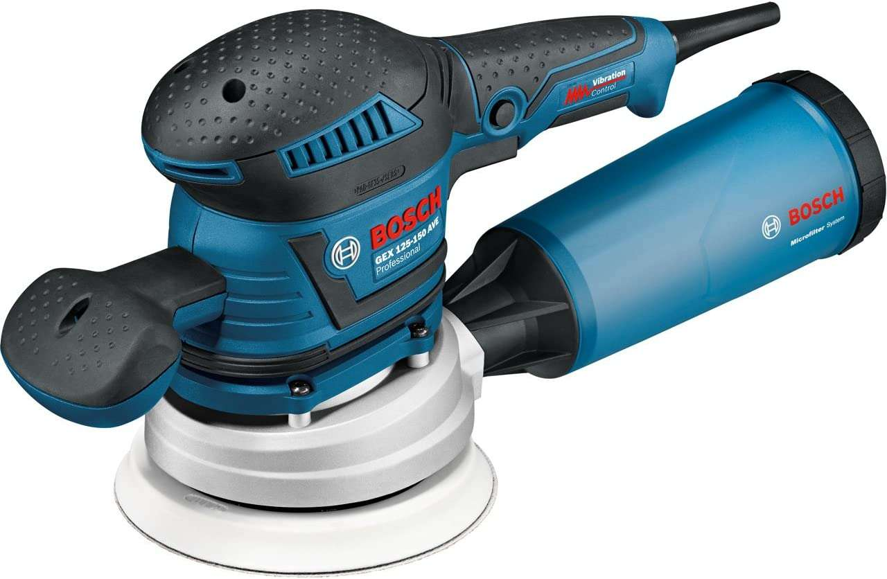 Bon plan : la ponceuse Bosch GEX 125-150 AVE Professional © Amazon