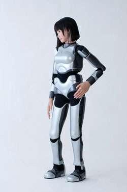 HRP-4C, un robot humanoïde, capable de danser, construit par AIST, un institut de recherche japonais. © AIST