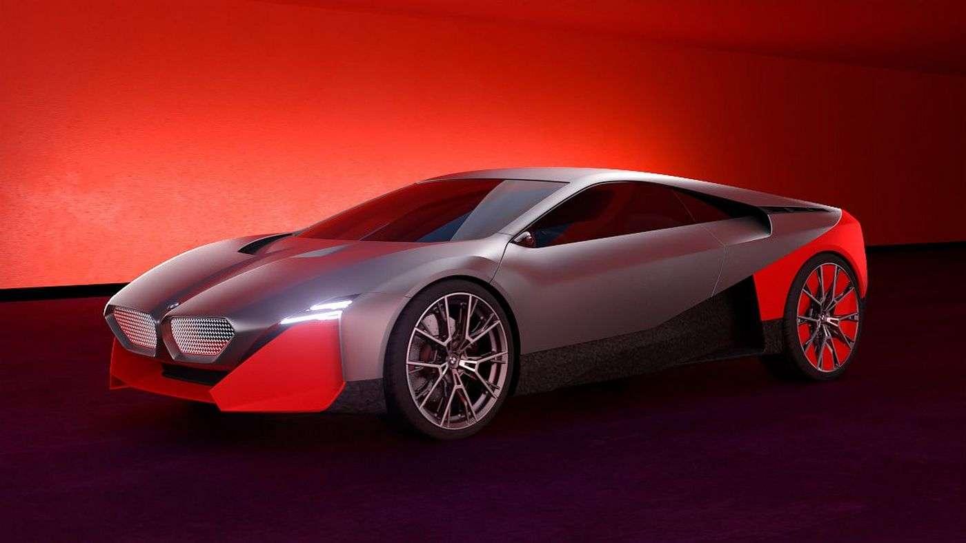 La BMW Vision M Next ne dépassera pas le stade du concept-car. © BMW