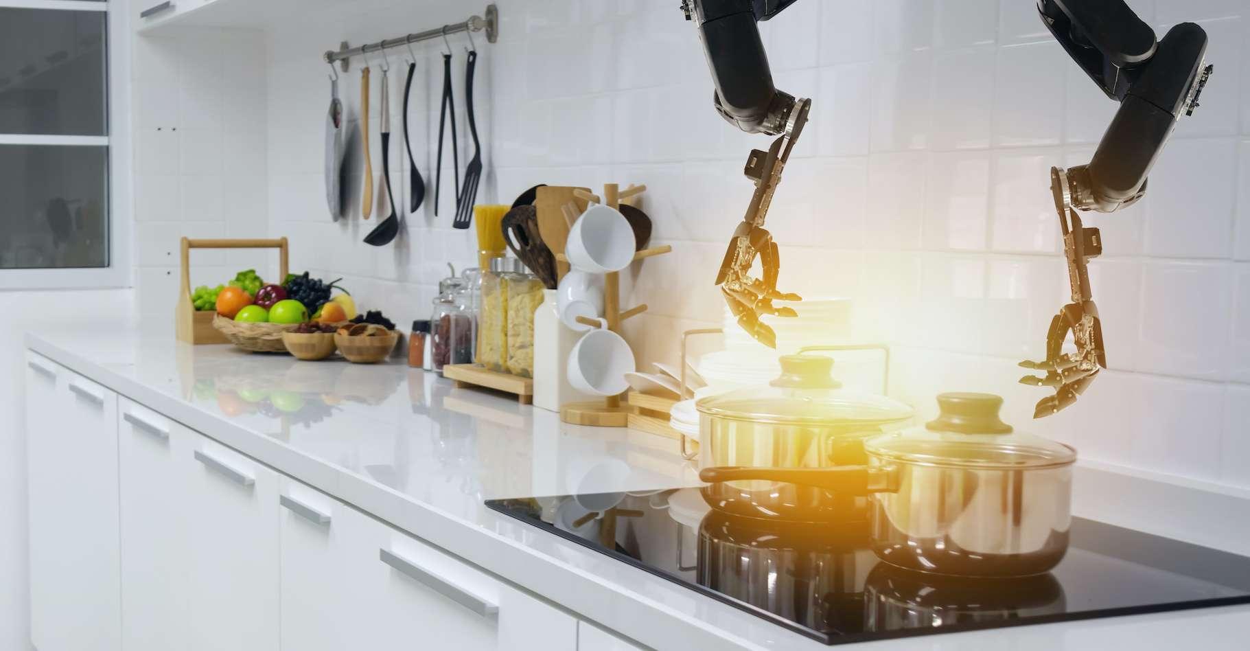 Les robots remplaceront-ils un jour les chefs humains dans les cuisines ? © Monopoly919, Adobe Stock