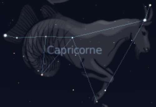 Constellation du Capricorne