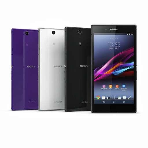 L'XPeria Z Ultra sera disponible au troisième trimestre 2013 en trois couleurs : noir, blanc et violet. © Sony Mobile