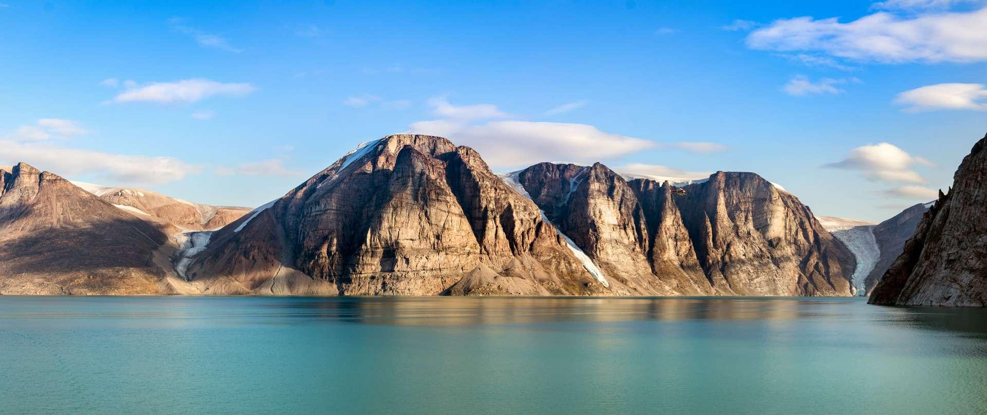 L'île de Baffin est la plus grande île du Canada. Elle se situe dans l'archipel Arctique. © Ruben, Adobe Stock