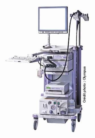 L'endoscopie : la vie intime des organes. © Olympus