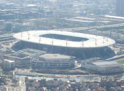 Le Stade de France acueillera samedi les équipes de France et d'Allemagne,mais aussi la nouvelle CableCam