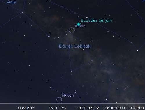 L'astéroïde Junon est en opposition