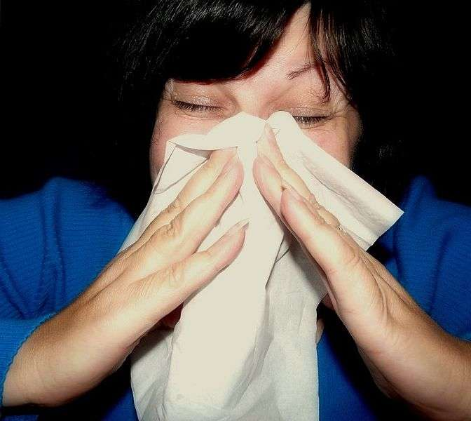 Les rhumes sont fréquents à l'arrivée de l'hiver. Le premier réflexe est souvent d'aller à la pharmacie pour se procurer de quoi calmer les symptômes. Mais est-ce une bonne idée ? Pas forcément, d'après 60 millions de consommateurs. © Mcfarlando, Wikimédia Commons, cc by 2.0