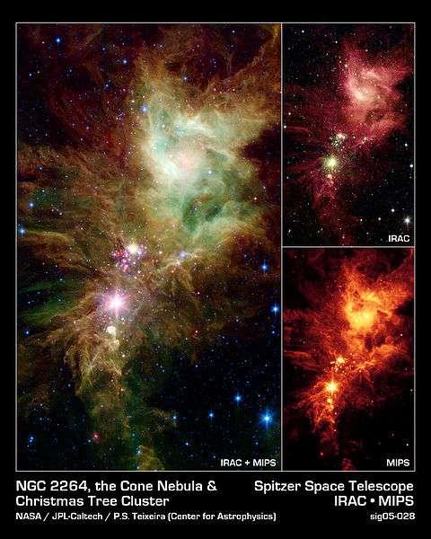 Les décorations du ciel ! © Nasa/JPL-Caltech/P.S. Teixeira (Center of Astrophysics>/em>)