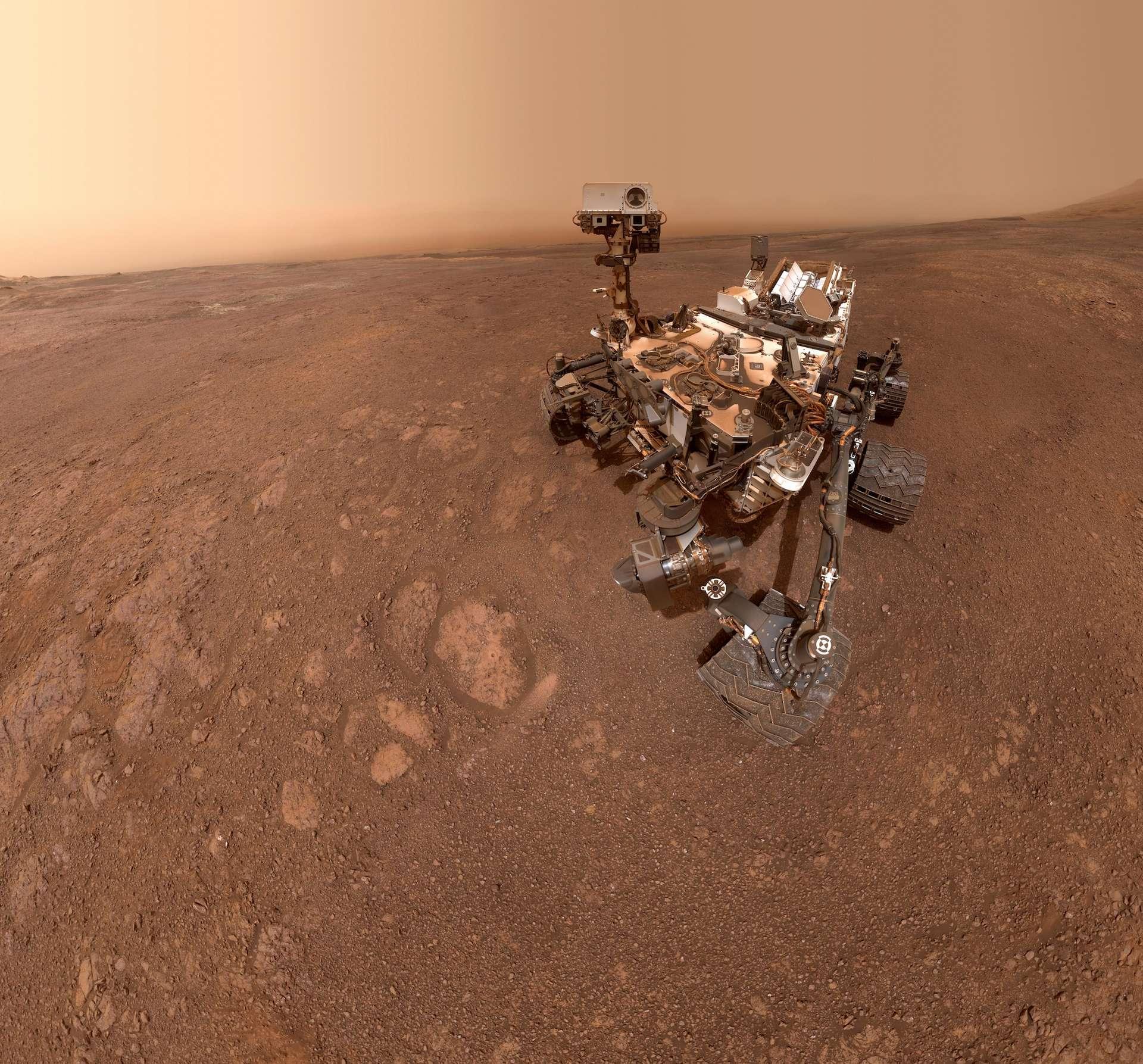 Autoportrait de Curiosity réalisé lors du Sol 2291. © Nasa, JPL-Caltech, MSSS