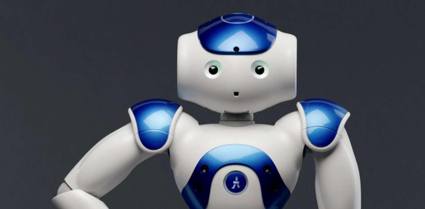 C'est le robot humanoïde Nao de la société Aldebaran Robotics qui a été choisi pour cette expérimentation. © Aldebaran Robotics
