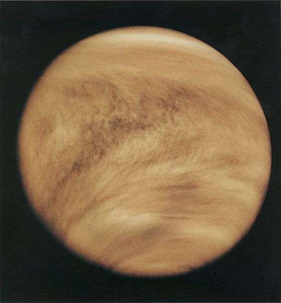 On trouve de l'acide sulfurique dans les nuages de Vénus. © Nasa, Wikipedia, DP