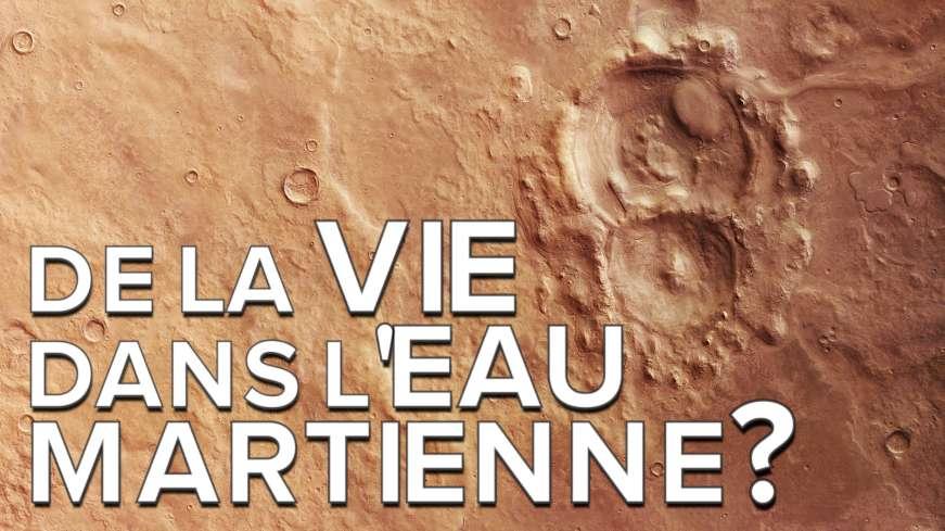 Interview : l'eau liquide martienne pourrait-elle abriter la vie ?