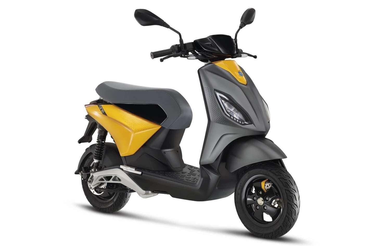 Le scooter électrique Piaggio One fera face à la redoutable concurrence des modèles chinois qui arrivent en masse sur le marché européen. © Piaggio