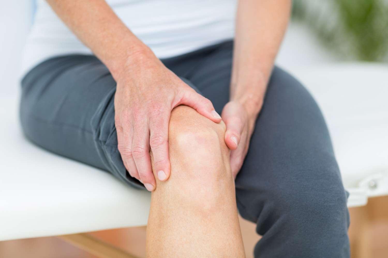 L'articulation du genou est un exemple d'articulation synoviale ou diarthrose. © wavebreakmedia, shutterstock
