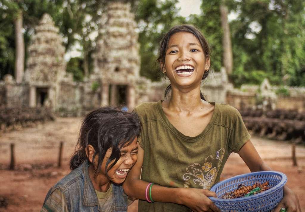 D'après une étude, le bonheur serait bon pour les gènes... à condition d'être heureux pour les autres. © Stuck in Customs, Flickr, cc by nc sa 2.0
