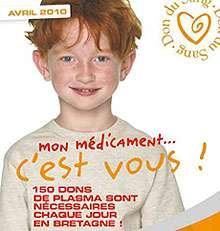« Mon médicament, c'est vous » : beaucoup attendent les dons de sang. © EFS Bretagne