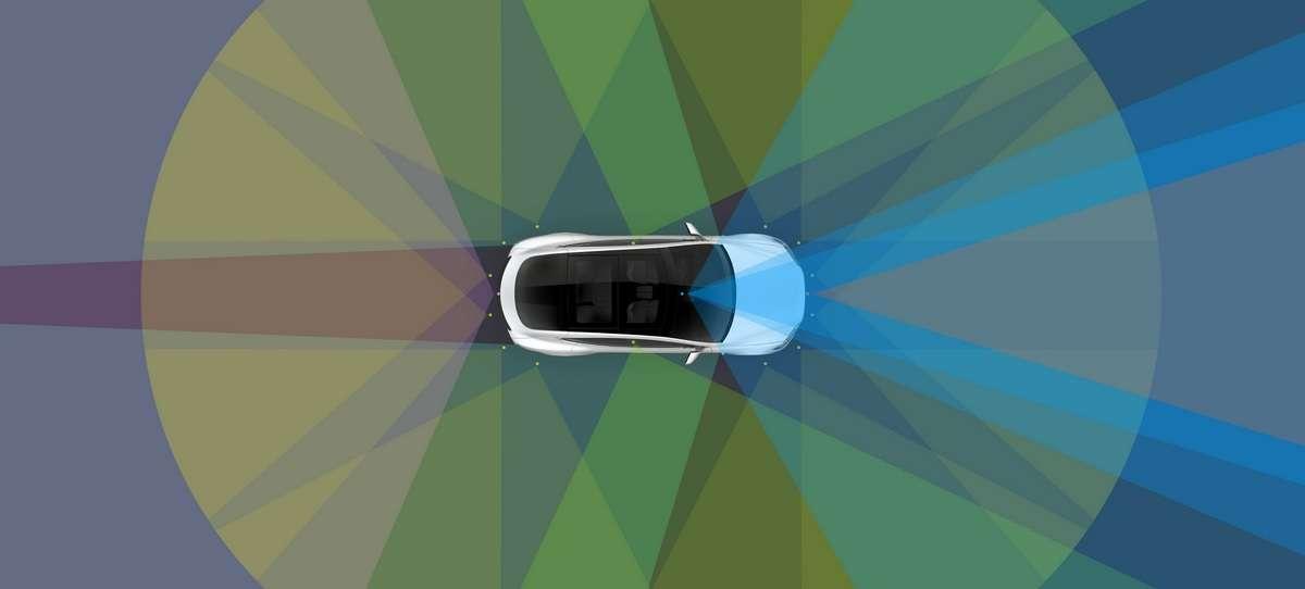 L'Autopilot, le système d'assistance à la conduite des Tesla, va prochainement devenir beaucoup plus fonctionnel en ville. © Tesla
