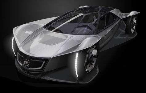 La Cadillac Aera, un coupé placé sous la formule « Art and Science » © General Motors