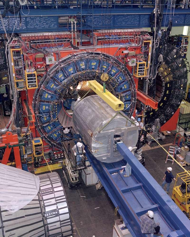 Le détecteur CDF du Tevatron. © Fermilab