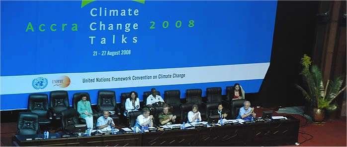 160 pays ont pris part aux discussions.