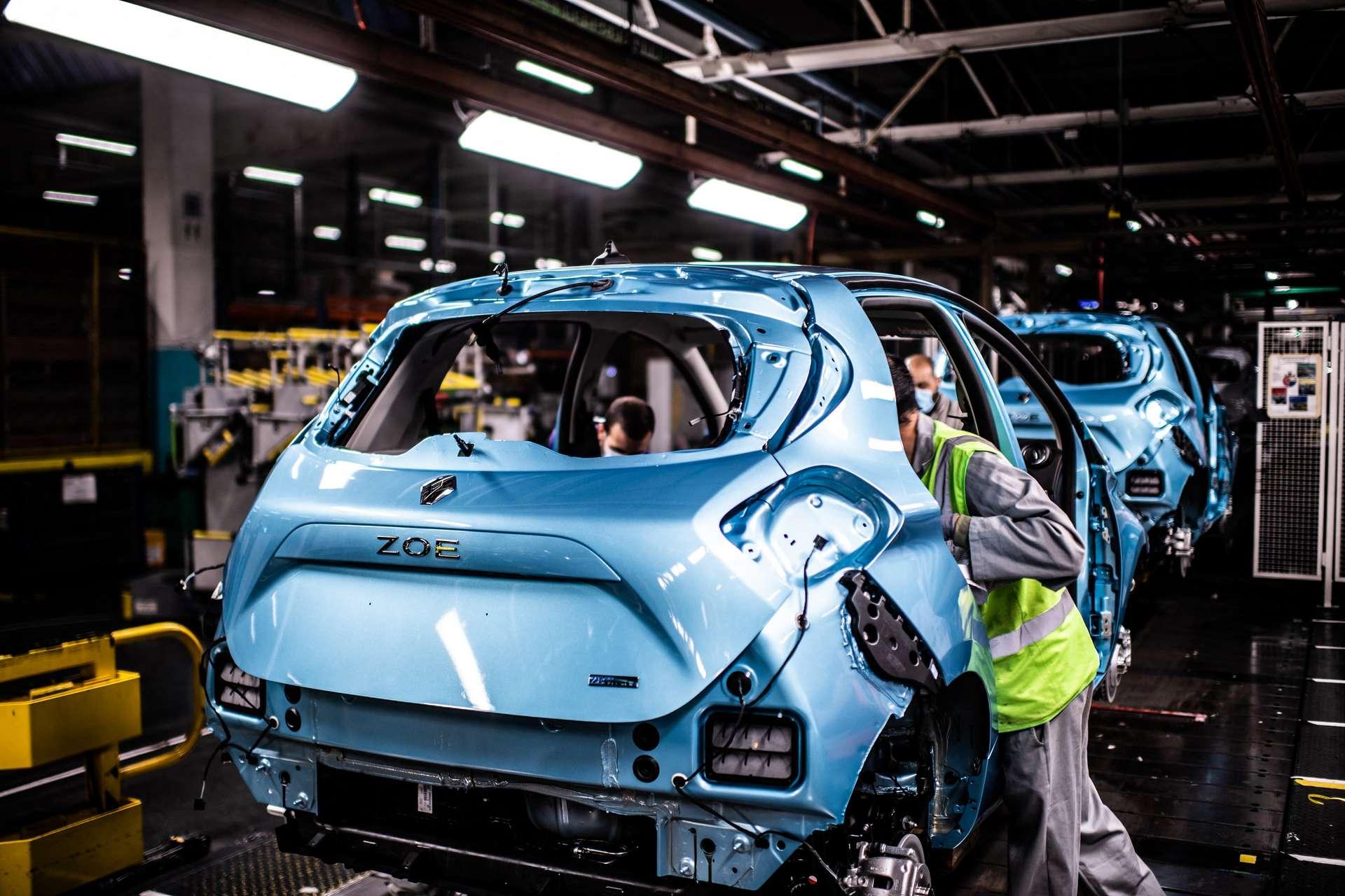 Renault diversifie le recyclage des batteries de ses voitures électriques