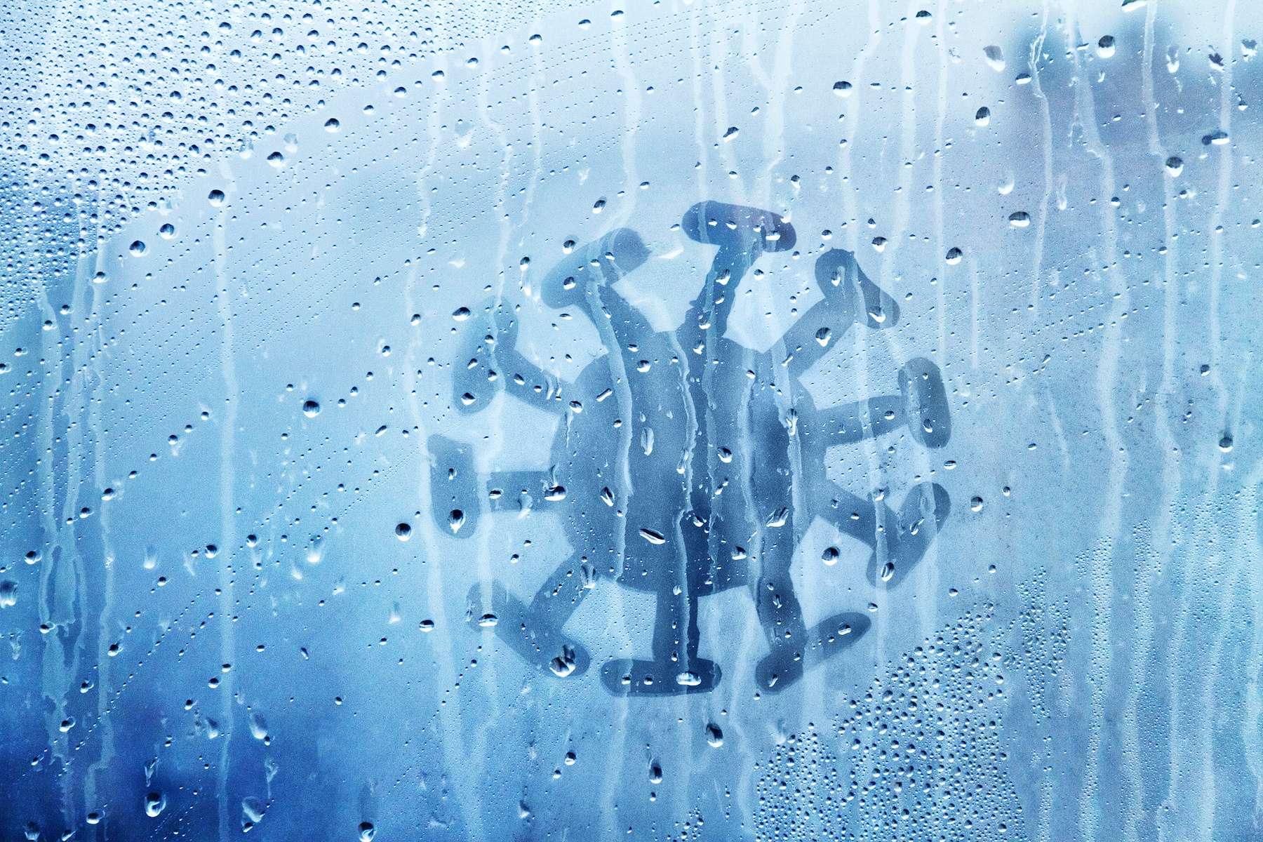 Le coronavirus apprécie le temps froid et humide. © ksenija1803z, Adobe Stock