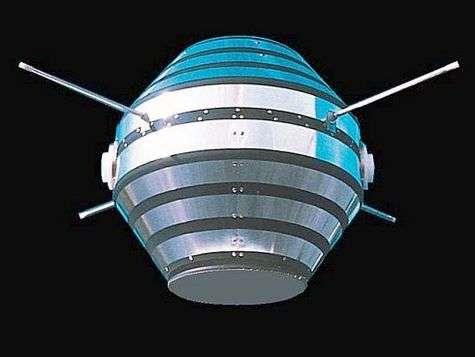 Astérix, le premier satellite français.