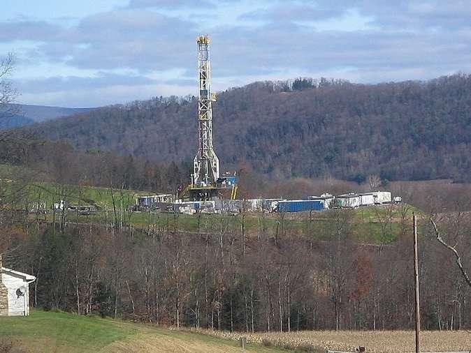 Des quantités gigantesques de gaz de schiste seraient piégées sous la Lorraine. © ruhrfisch, Wikipédia, cc by sa 3.0