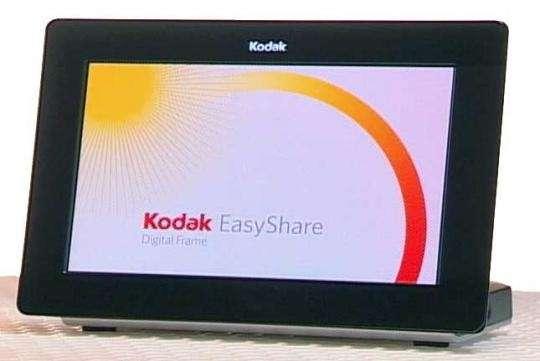 Dépositaire du brevet de la technologie Oled, Kodak s'en sert pour les écrans de certains de ses cadres photos numériques. © Kodak