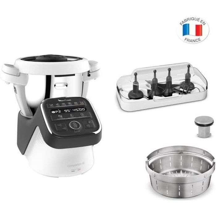 Bon plan : le robot cuiseur Moulinex Companion XL © Cdiscount