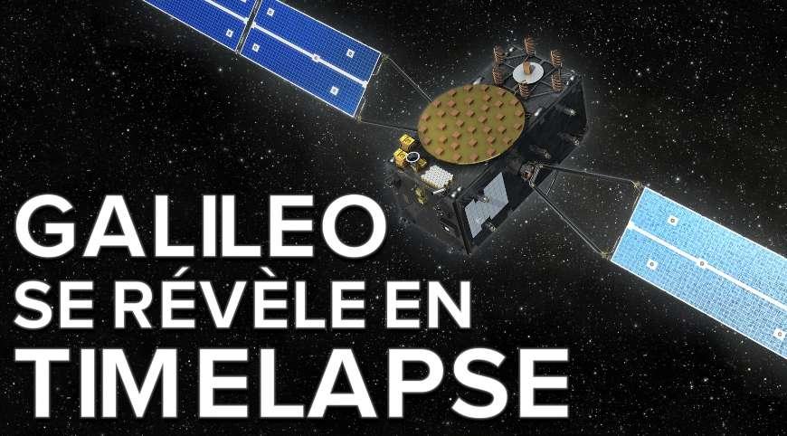 Time-lapse : l'aventure des satellites de la constellation Galileo
