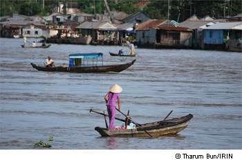 Le dernier cas mortel de grippe aviaire a été déclaré en début de mois d'août au Cambodge. © Tharum Bun/IRIN