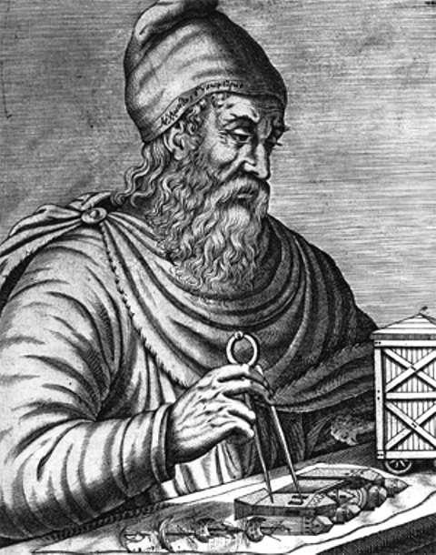 Le mathématicien, ingénieur, physicien et astronome Archimède. © Domaine public