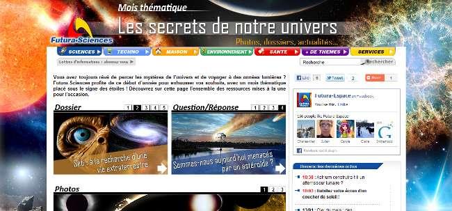 C'est le Mois de l'espace sur Futura-Sciences ! © Futura-Sciences