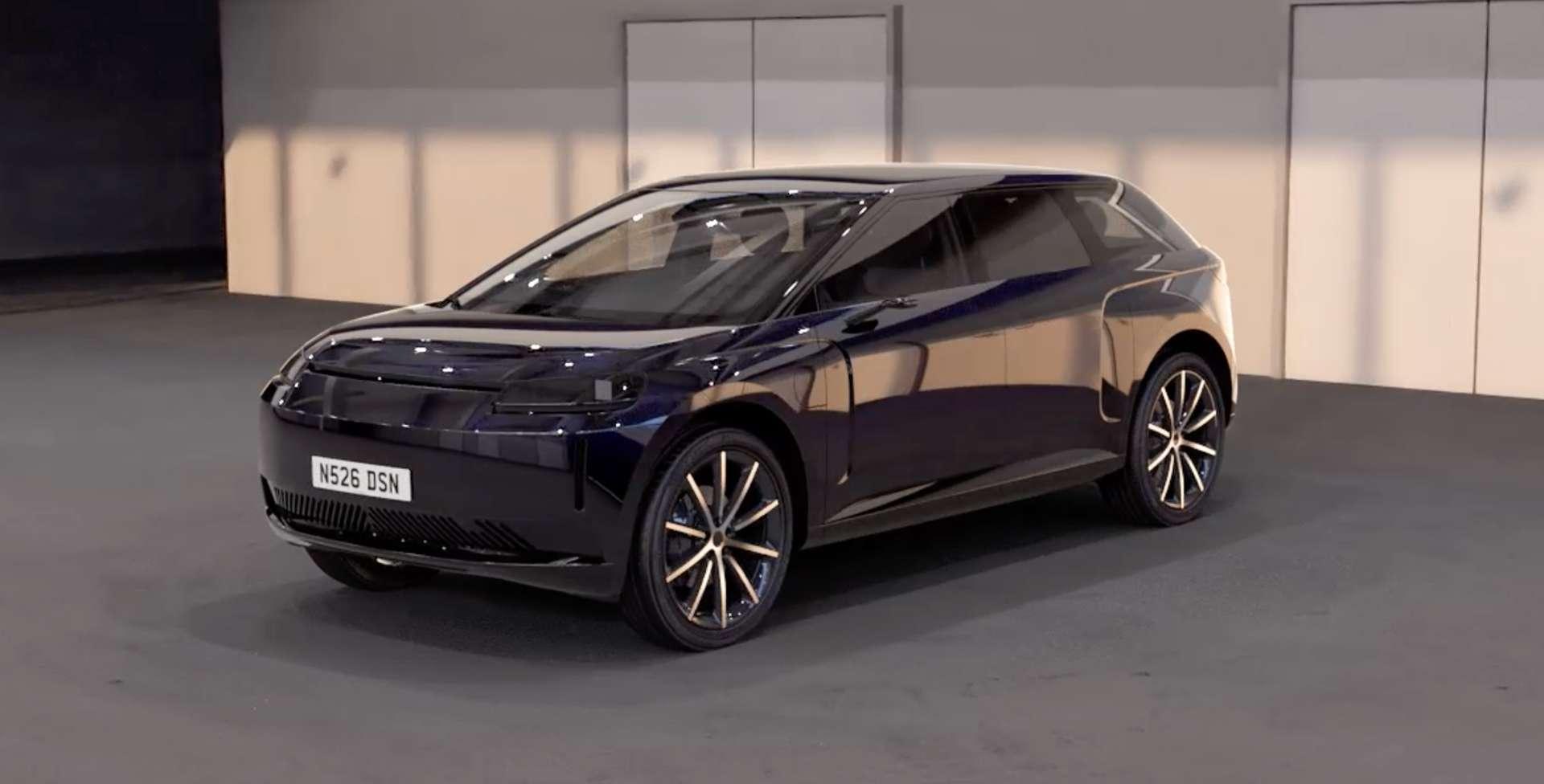 Le style du SUV électrique Dyson n'a rien de spectaculaire. Il rappelle même ce que l'on a pu voir chez Byton et Faraday Future. © Dyson