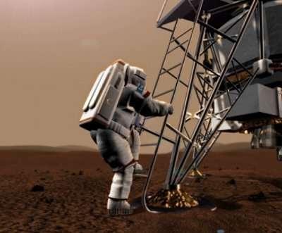 Simulation martienne. Un petit pas pour un Homme, un bond de géant pour l'ESA.