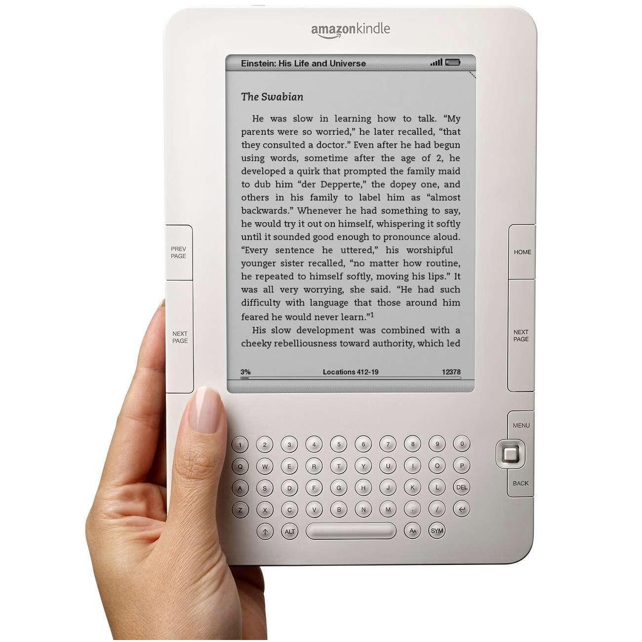 « Prête-moi ton livre, s'il te plaît. » « Attends, je demande à l'éditeur et je préviens Amazon ». © Amazon
