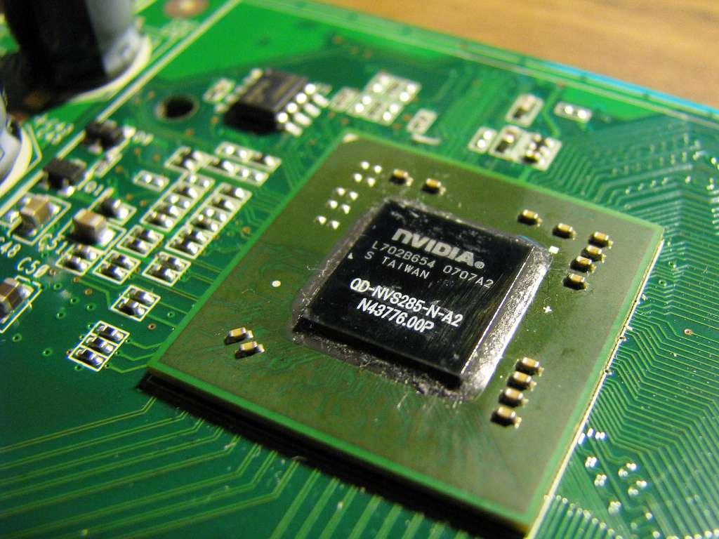 GPU embarqué sur une carte graphique (cc) Edmund Tse © Nvidia