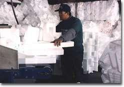 Recyclage du polystyrène