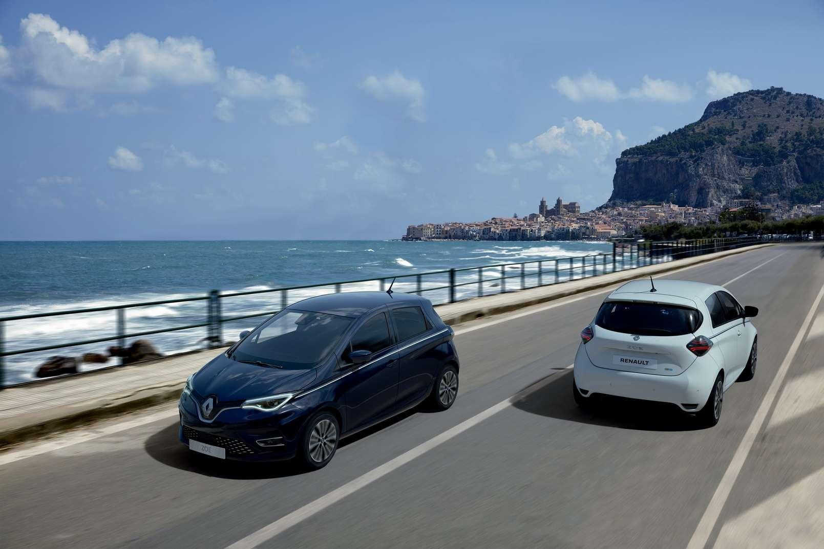 La Renault Zoe est régulièrement en tête des ventes de voitures électriques en France et les modèles d'occasion sont prisés. © Renault