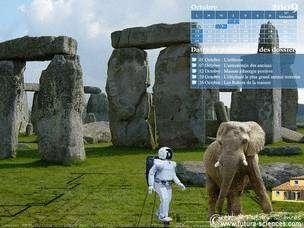 Astronomie, arthrose, robots ménagers, éléphant et maison à énergie positive.