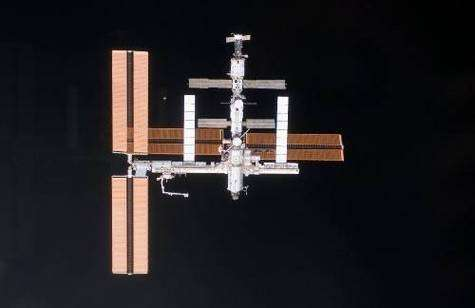 La Station Spatiale Internationale. Crédit NASA.