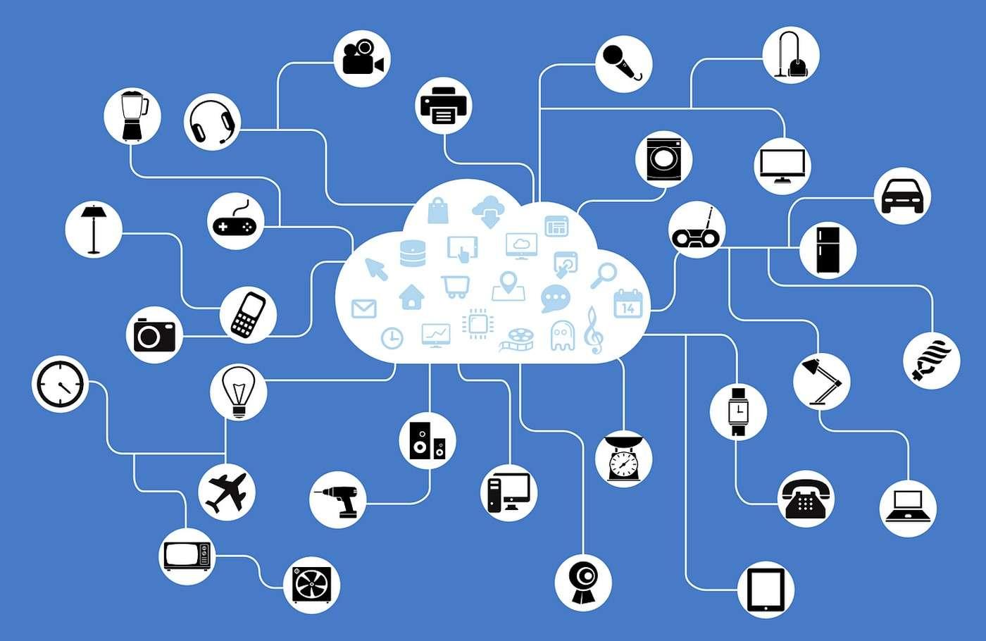 L'Internet des objets regroupe tous les objets physiques communicants dotés d'une identité numérique unique. © DP, via Pixabay