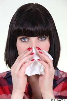Le saignement de nez peut se traiter simplement. © Phovoir