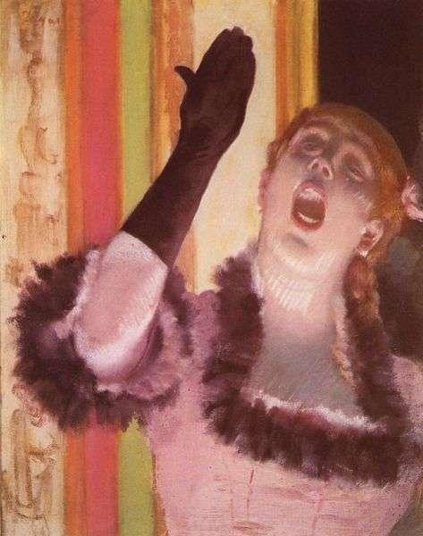 Certains, comme, sans doute, cette chanteuse peinte par Degas, ont une belle voix. Mais beaucoup ont une voix ordinaire, peut-être voisine de celle de quelqu'un qui l'a perdue. Le projet VocaliD permettra peut-être d'en faire don, de manière simple, par exemple en lisant (ou en relisant) Le magicien d'Oz, de L. Frank Baum. © The York Project, domaine public